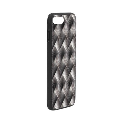 "Metallic Tile - Jera Nour Rubber Case for iPhone 7 plus (5.5"")"
