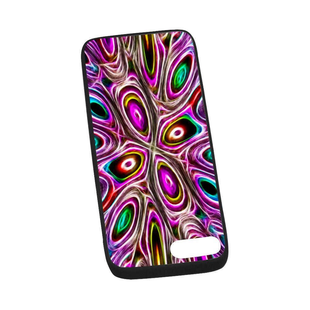 "Peacock Strut I - Jera Nour Rubber Case for iPhone 7 plus (5.5"")"