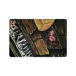 """Broken Piano Doormat 24"""" x 16"""""""