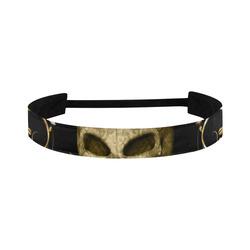 The golden skull Sports Headband