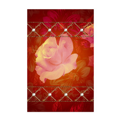 """Beautiful soft roses Poster 22""""x34"""""""