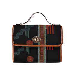 Kurukulla by Vaatekaappi Waterproof Canvas Bag/All Over Print (Model 1641)