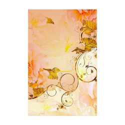 """Beautiful flowers in soft colors Poster 22""""x34"""""""