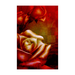 """Wonderful red roses Poster 22""""x34"""""""