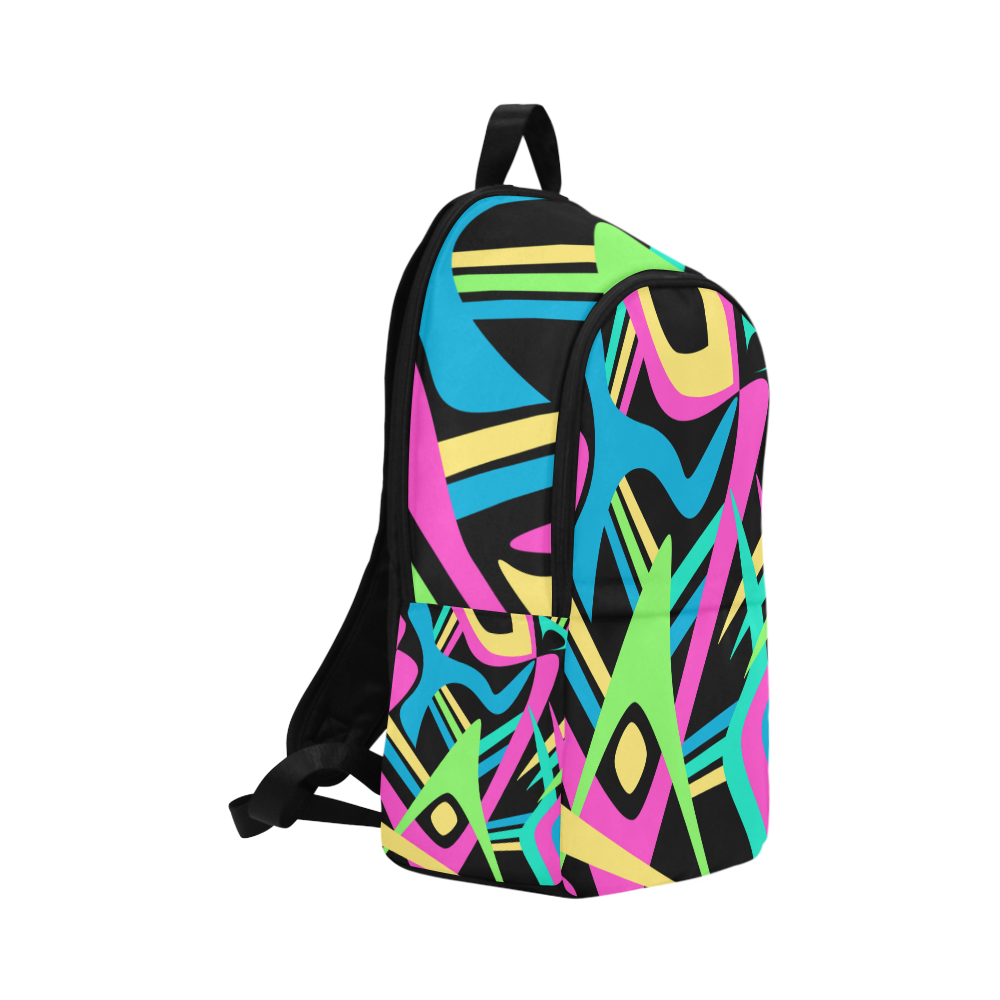 Neon Puff Fabric Backpack for Adult (Model 1659)