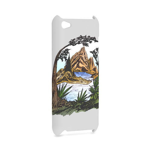 The Outdoors Hard Case for iPod Touch 4