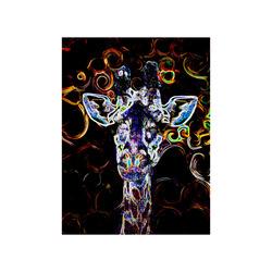 "Closeup Neon Poster 18""x24"""