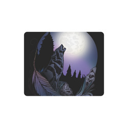 Howling Wolf Rectangle Mousepad