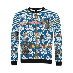 Rotary Bugs on The Canal All Over Print Crewneck Sweatshirt for Men (Model H18)