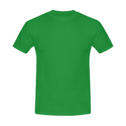 This My Color Leafy Green Men's Slim Fit T-shirt (Model T13)
