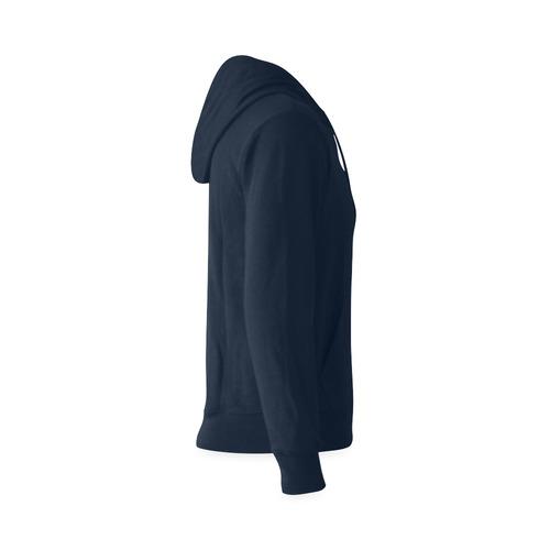 This My Color Dark Blue Gildan Hoodie Sweatshirt (Model H03)