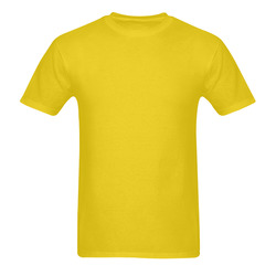 This My Color Cheery Yellow Sunny Men's T- shirt (Model T06)
