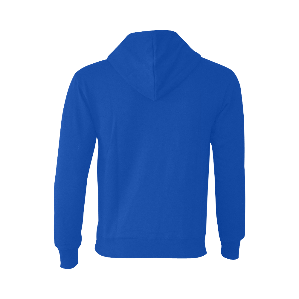This My Color Blue Oceanus Hoodie Sweatshirt (NEW) (Model H03)