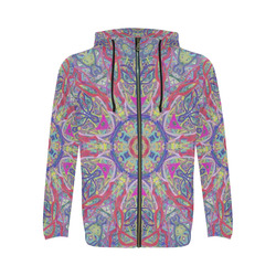 Thleudron Artemis All Over Print Full Zip Hoodie for Men (Model H14)