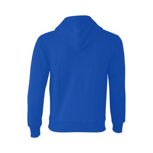 This My Color Electric Blue Gildan Hoodie Sweatshirt (Model H03)