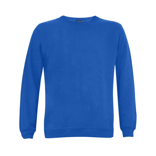 This My Color Medium Blue Gildan Crewneck Sweatshirt(NEW) (Model H01)