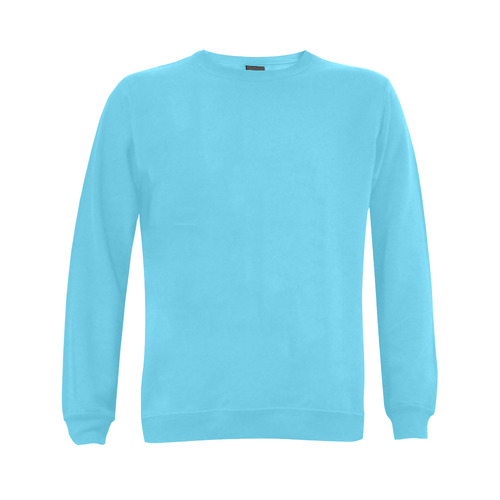 This My Color Light Blue Gildan Crewneck Sweatshirt(NEW) (Model H01)