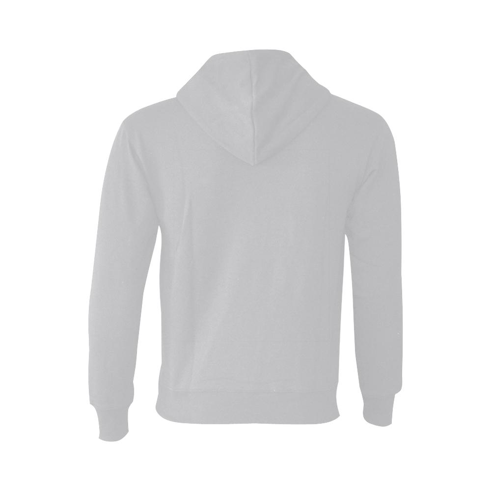 This My Color Light Gray Oceanus Hoodie Sweatshirt (NEW) (Model H03)