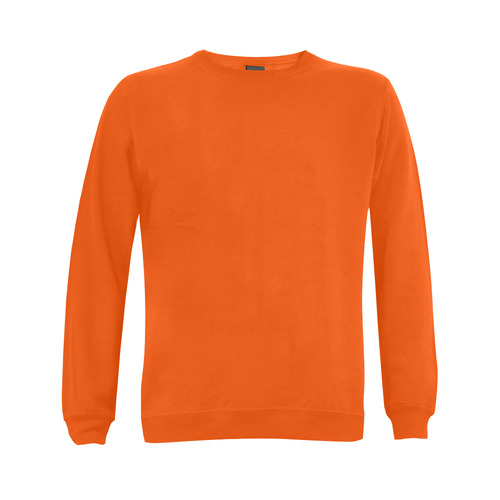 This My Color Orange Gildan Crewneck Sweatshirt(NEW) (Model H01)