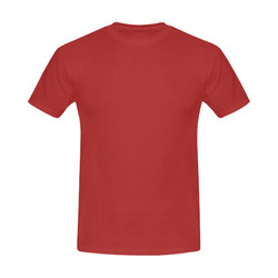 This My Color Light Maroon Men's Slim Fit T-shirt (Model T13)