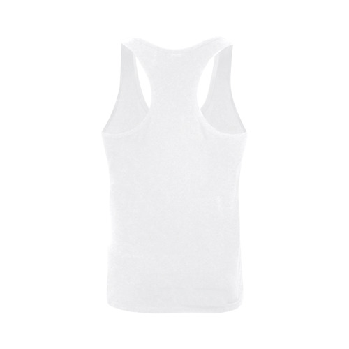 This My Color White Plus-size Men's I-shaped Tank Top (Model T32)