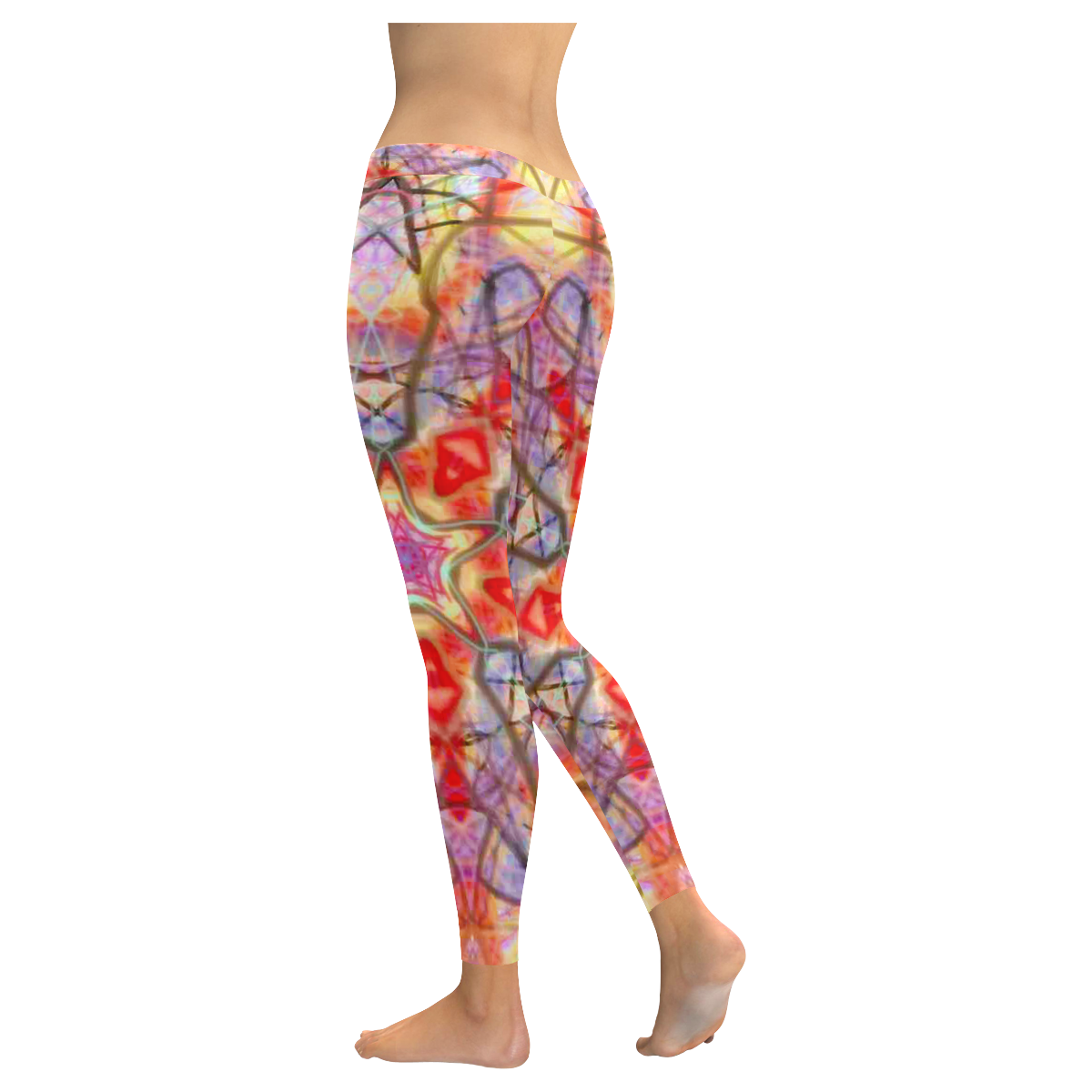 Thleudron Eidos Low Rise Leggings (Invisible Stitch) (Model L05)