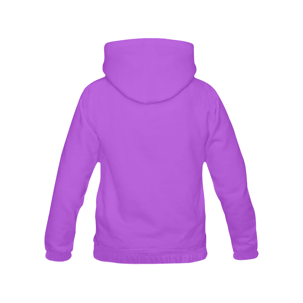 This My Color Medium Light Purple All Over Print Hoodie for Men (USA Size) (Model H13)