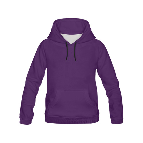 This My Color Dark Purple All Over Print Hoodie for Men (USA Size) (Model H13)