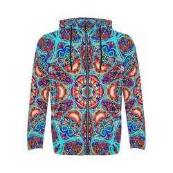 Thleudron Aladin All Over Print Full Zip Hoodie for Men (Model H14)