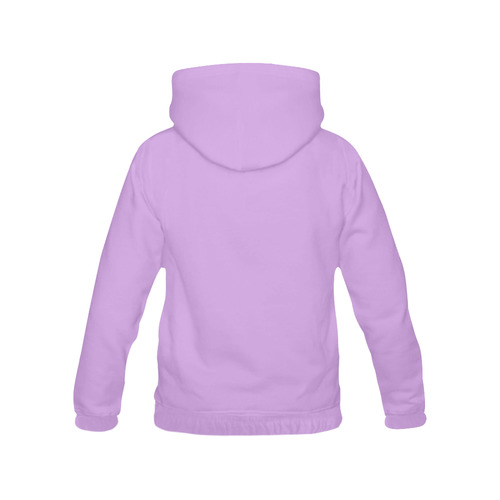 This My Color Purple All Over Print Hoodie for Men (USA Size) (Model H13)