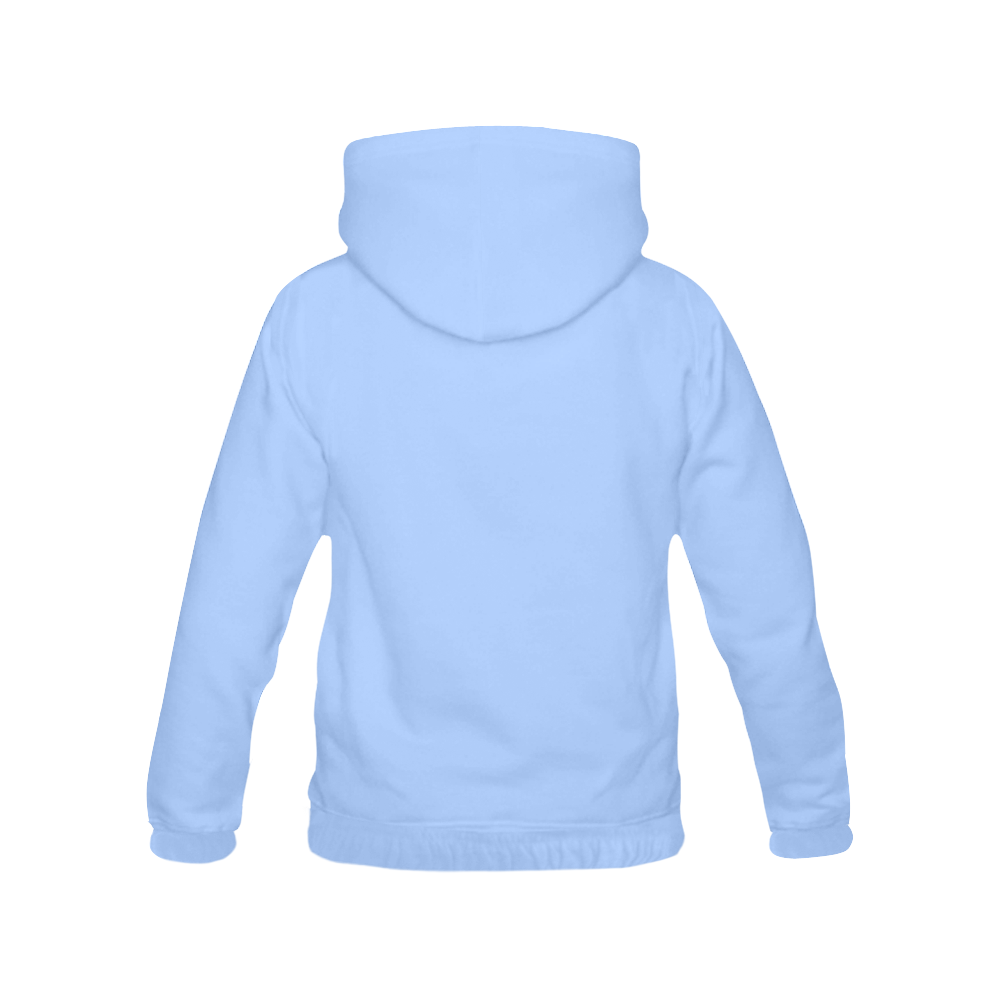 This My Color Gentle Blue All Over Print Hoodie for Men (USA Size) (Model H13)