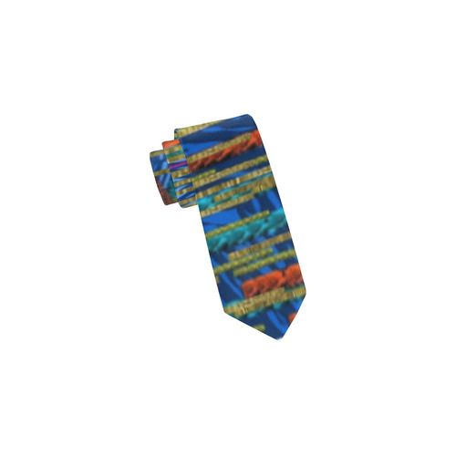 Peace In The Troll woody wood Classic Necktie (Two Sides)