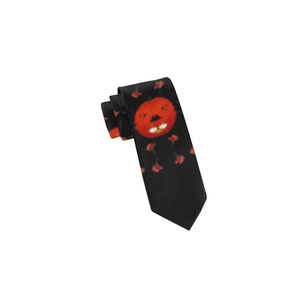 pumkins and roses from the fantasy garden Classic Necktie (Two Sides)
