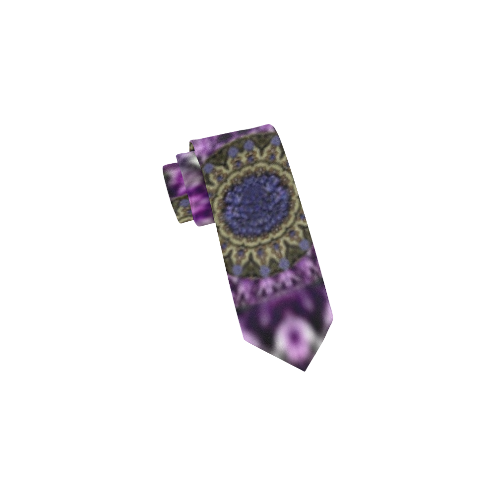 Flowers from paradise in fantasy elegante Classic Necktie (Two Sides)