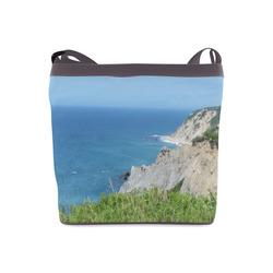Block Island Bluffs - Block Island, Rhode Island Crossbody Bags (Model 1613)