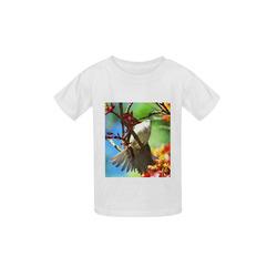 colors of spring bird Kid's  Classic T-shirt (Model T22)