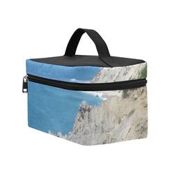 Block Island Bluffs - Block Island, Rhode Island Cosmetic Bag/Large (Model 1658)