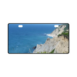 Block Island Bluffs - Block Island, Rhode Island License Plate