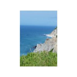 "Block Island Bluffs - Block Island, Rhode Island Poster 16""x24"""