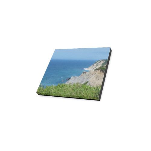 "Block Island Bluffs - Block Island, Rhode Island Canvas Print 6""x4"""