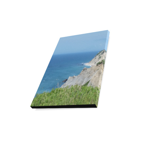 "Block Island Bluffs - Block Island, Rhode Island Canvas Print 11""x14"""