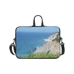 "Block Island Bluffs - Block Island, Rhode Island Laptop Handbags 17"""