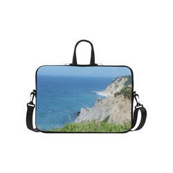 Block Island Bluffs - Block Island, Rhode Island Laptop Handbags 15""