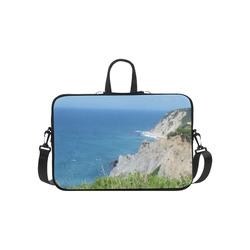 "Block Island Bluffs - Block Island, Rhode Island Laptop Handbags 14"""