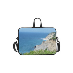 Block Island Bluffs - Block Island, Rhode Island Laptop Handbags 11""