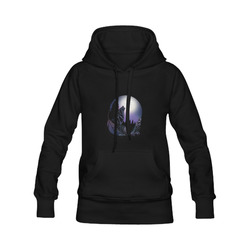 Howling Wolf Men's Classic Hoodies (Model H10)