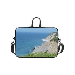 "Block Island Bluffs - Block Island, Rhode Island Laptop Handbags 10"""