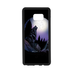 Howling Wolf Rubber Case for Samsung Galaxy Note7