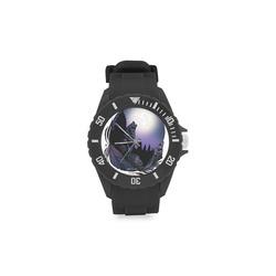 Howling Wolf Sport Rubber Strap Watch(Model 301)