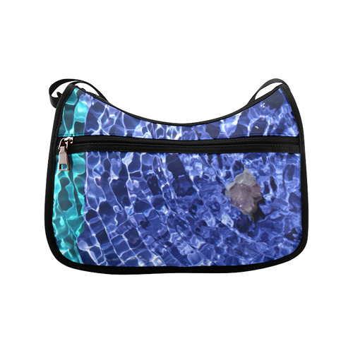 Upward Amethyst Vibes Crossbody Bags (Model 1616)